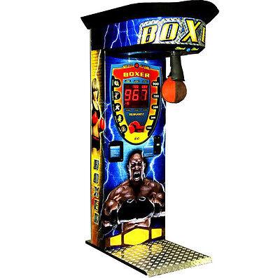 Boxautomat Cube Sticker, Boxer machine, boxen, Kraftmesser, Box Automat