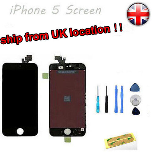 For Black iPhone 5 replacement  LCD Touch Screen Digitizer Assembly High Quality