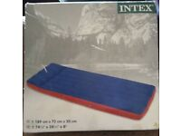 Brand new boxed single inflatable camping bed