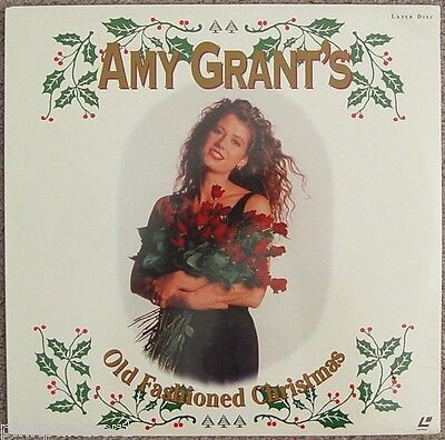 AMY GRANT Old Fashioned CHRISTMAS 10 Songs with Art GARFUNKEL Sealed Laserdisc ()