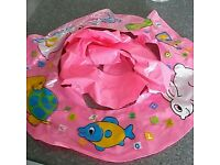 Infants rubber ring seat