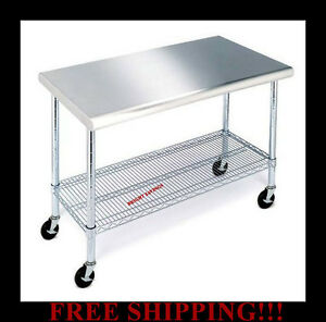 Stainless Steel Work Bench Ebay