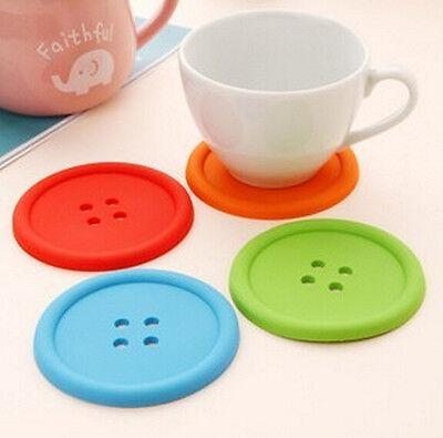 Cup Mug Glass Beverage Holder Pad Silicon ...