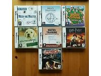 Nintendo DS games batch or individual purchase (see description)