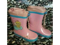 ***Girls pink welly boots size UK 8 EUR 26