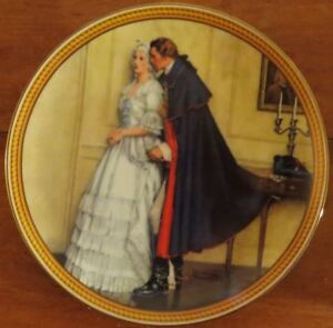 Norman Rockwell Plate: The Unexpected Proposal
