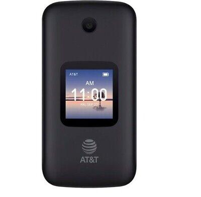 NEW ALCATEL SMARTFLIP 4052R AT&T UNLOCKED - HD Voice Wifi Flip Basic