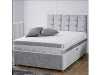 New double divan bed
