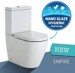 New Empire BTW Toilet Suite + Nano Glaze Protected Paradise Campbelltown Area Preview