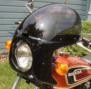 Cafe-Racer-Bobber-Tracker-Viper-Fairing-Windshield-Harley ...  Cafe-Racer-Bobb...