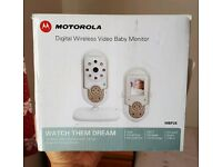 Digital wireless video baby monitor - motorola
