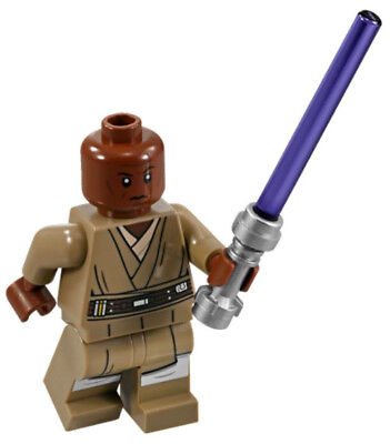 NEW LEGO MACE WINDU MINIFIG 75199 star wars jedi minifigure figure
