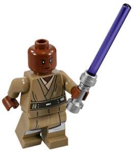 NEW LEGO MACE WINDU MINIFIG 75199 star wars jedi minifigure figure