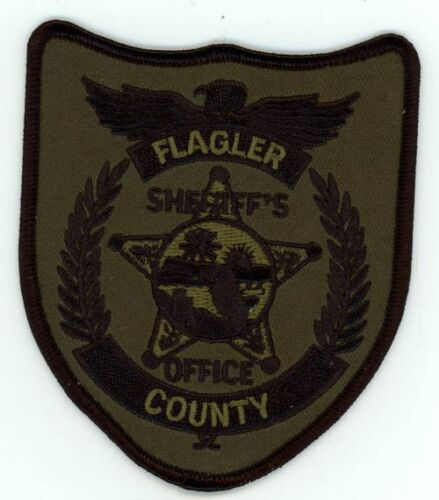 FLAGLER COUNTY SHERIFF FLORIDA FL NICE NEW SUBDUED SWAT PATCH POLICE