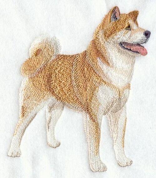 Embroidered Fleece Jacket - Akita C5075 Sizes S - XXL
