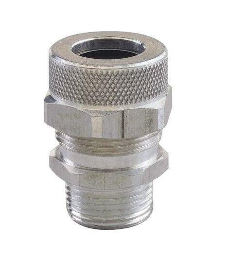 """RSR-2314, Remke, Cord Grip, alum, 3/4"""" NPT, cable range .750 - .875, Form Size 4"""