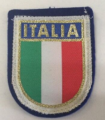 Patch Of Italy-Coat Of Arm-ITALIA