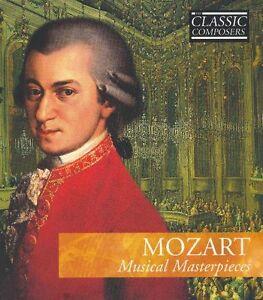 Mozart Musical Masterpieces cd BOX SET