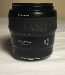 Minolta 28-80mm XI Lens for Minolta/Sony A-mounts