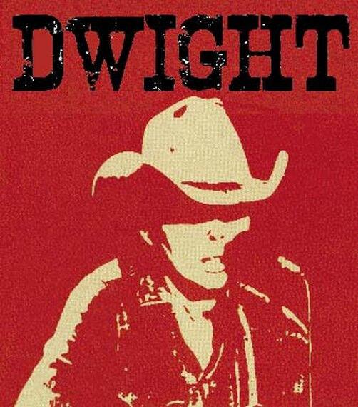 Dwight Yoakam --- Country Music  Vintage Bumper Sticker Nashville decal