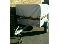 Trailer Erde 101 with high extension kit