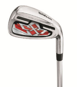 Wilson Staff Golf Men's CX7 Steel Irons Set Brand New 5-SW Uniflex Right-Handed