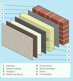 Building Services/ Reduce Heat Loss with External Wall Insulation
