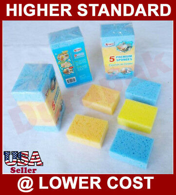 180 Premium Sponge Kitchen Car Bath Room Cleaning Pad