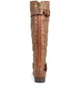 New! Journee wide-calf Spokane studded riding boot, size 8 St. John's Newfoundland image 3