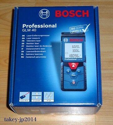 Bosch Glm 40 Professional Laser Distance 40 Meter Range Finder - Free Shipping