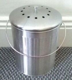 Stainless Steel Food Waste Bin