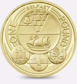 CAPITAL CITY - 2010 - BELFAST - ONE POUND COIN