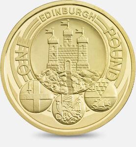 2011 Edinburgh City Royal Capital Series One Pound Coin
