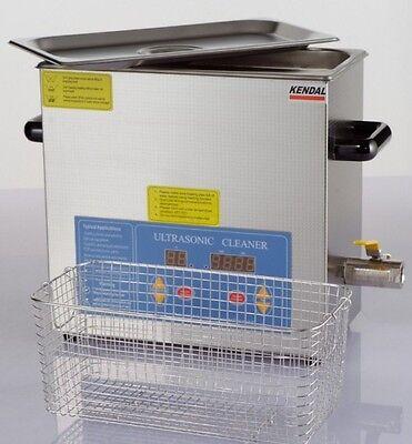 New 380 Watt 6 Liter Digital Heated Ultrasonic Cleaner Hb36