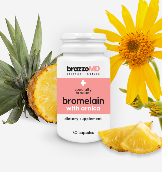 bromelain with arnica tablets 60 tablets plastic