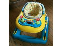 3 in 1 Baby Walker, Pusher & Jumper Great Condition