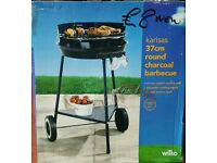 New Kansas 37cm Round Charcoal Barbecue