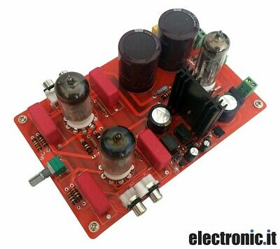 Módulo Preamplificador Amplificador Válvulas Estéreo Hi-Fi Clase