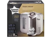 Brand new boxed up Tommee Tippee prep machine