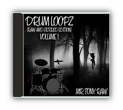 Drum Loops Raw and Filtered Volume 1 - mpc pro tools samples drums Wav -