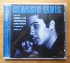 ELVIS-PRESLEY-Classic-Elvis-CD-album-1997-1990s-pop