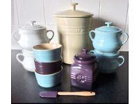 Le Creuset Kitchen stoneware items