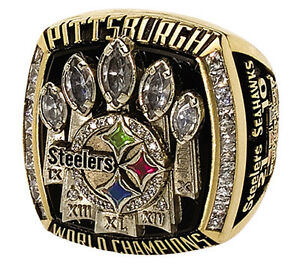PITTSBURGH-STEELERS-2005-06-SUPER-BOWL-RING-NFL-FOOTBALL-8X10-PHOTO