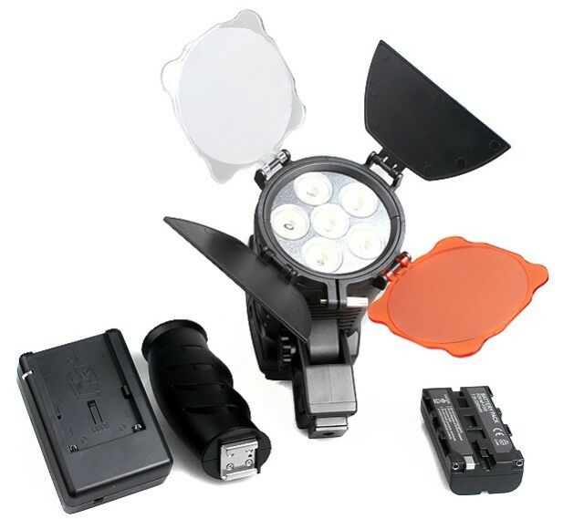 Pro 5010 LED Camcorder Video lamp Lighting +  Enough Power battery