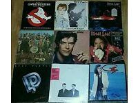 Vinyl lot Bowie Beatles meatloaf queen + more