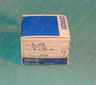 Omron Tl-xy5 Proximity Switch 90-250vac 2m New