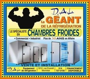 **CHAMBRES FROIDES * COMMERCIALES * INDUSTRIELLES* DAL **