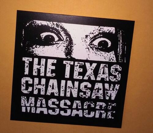 "STICKER - Texas Chainsaw Massacre ""Eyes"" - vinyl - Horror movie - Leatherface"