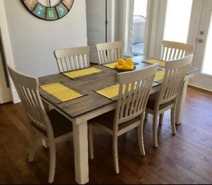 Custom Rustic Dining Tables