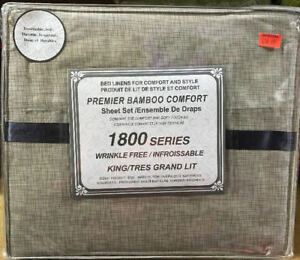 SALE ON 1800 SERIES BAMBOO COMFORT BED SHEET FOR $16.99